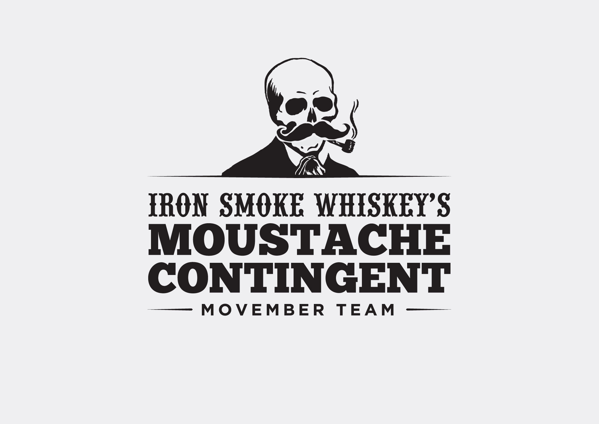 Iron Smoke Moustache Contingent Movember Team
